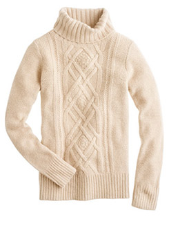Cable-Turtleneck-Sweater